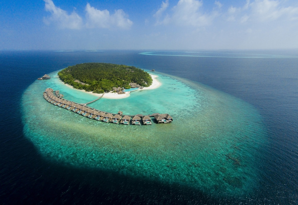 Dusit Thani Maldives Aerial