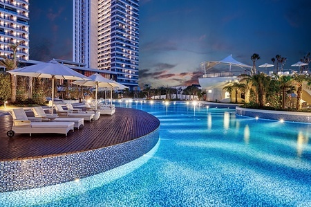 DTHZ-Grand Swimming Pool-Night View